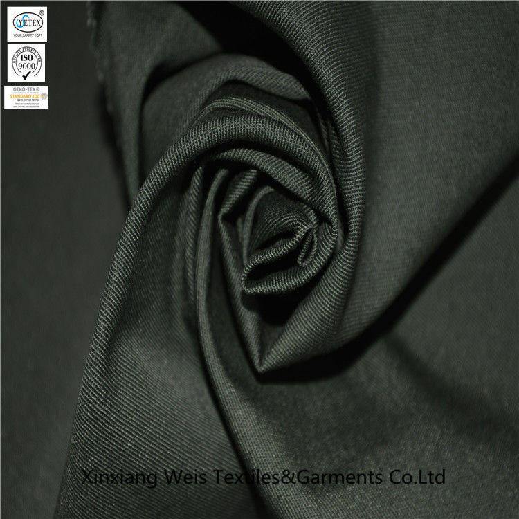 Twill 6535 Polyester Cotton Anti Acid Alkali Fabric For Protective Workwear
