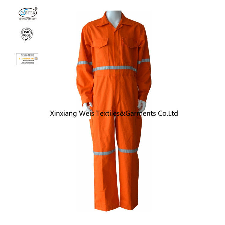 100% Cotton Heat Protection 310gsm Flame Retardant Coveralls